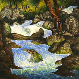 Douglas Castleman - Waters of Yosemite