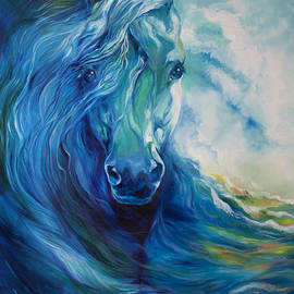 Marcia Baldwin - Wave Runner Blue Ghost Equine