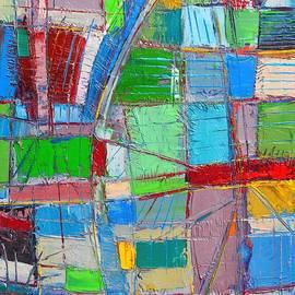 Ana Maria Edulescu - Waves Of Spirit - Abstract Original Oil Painting