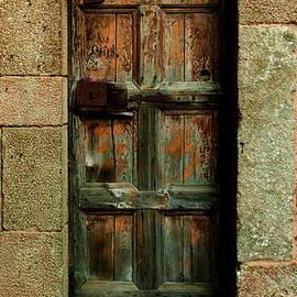 Denise Dube - Weatherd Barcelona Door