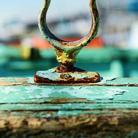 Paul Ward - Weathered Boat Oar Lock