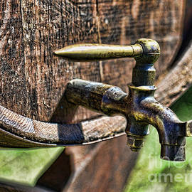 Paul Ward - Weathered tap and barrel
