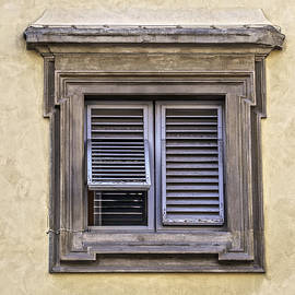 David Letts - Weathered Window of Florence