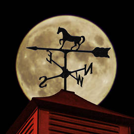 Wes Jimerson - Weathervane before the Moon
