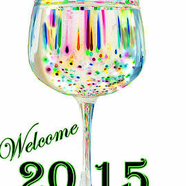 Welcome 2015 White