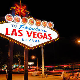 Gregory Ballos - Welcome to Las Vegas - Neon Sign