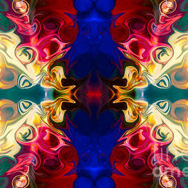 Omaste Witkowski - Welcoming A New Reality Abstract Pattern Artwork by Omaste Witko