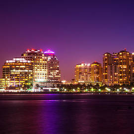 Lynn Bauer - West Palm Beach in Purple