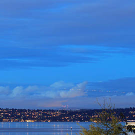 E Faithe Lester - West Seattle at Twilight