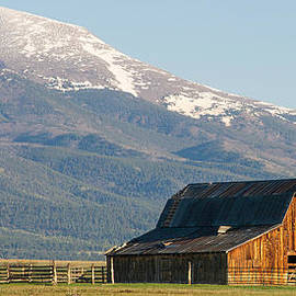 Aaron Spong - Westcliffe Colorado - Old Barn