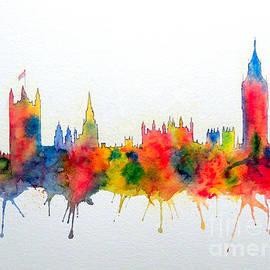 Bill Holkham - Westminster And Big Ben Skyline