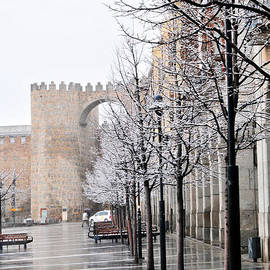 Angela Bonilla - Wet and Snowy Avila