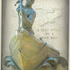 Kathy Barney - Whale Hunter Sculpture