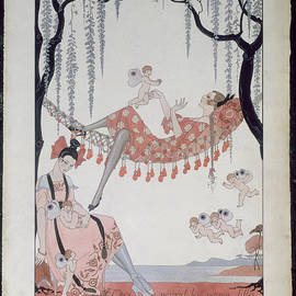 Georges Barbier - What Do Young Women Dream Of?