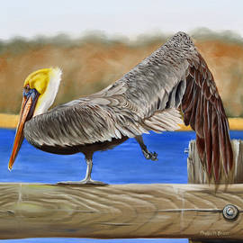 Phyllis Beiser - What Pelicans Do 2