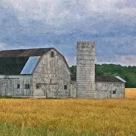 Sara  Raber - Wheat Field Barn