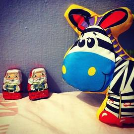 Huaying Kok - When Santa Claus Meet Zebra
