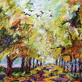 Ginette Callaway - Where Crows Dream Autumn Landscape