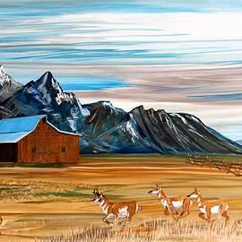Mike Nahorniak - Where the Antelope Play