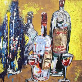 Lisa Kramer - Whimsical Wine Bottles