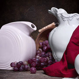 Tom Mc Nemar - White Ceramic Still Life