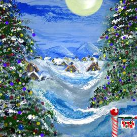 Lori  Lovetere - White Christmas At The North Pole