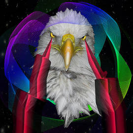 Mark Ashkenazi - white Eagle face
