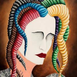 Deena Athans - White Face Medusa