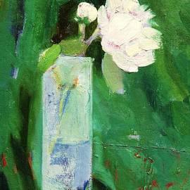 Misuk  Jenkins - White flower