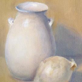 Elizabeth B Tucker  - White Jug and Onion