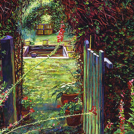 David Lloyd Glover - Wicket Garden Gate