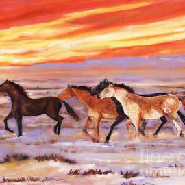 MarLa Hoover - Wild At Heart Desert Horses