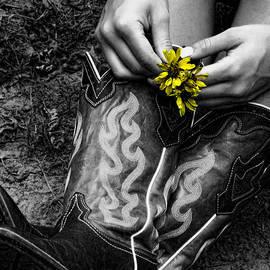 Kristie  Bonnewell - Wild Flower Boots