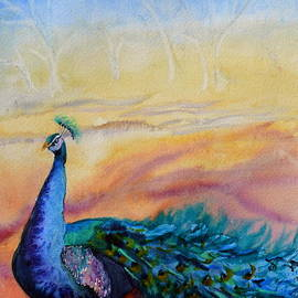 Beverley Harper Tinsley - Wild Peacock