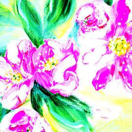 Oksana Semenchenko - Wild Roses 34.1. Morning in my garden