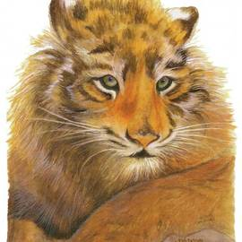 Nan Wright - Wild Tiger Cub