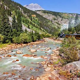 Karen Stephenson - Wild West Train Ride along the Animas River from Durango to Silverton Colorado