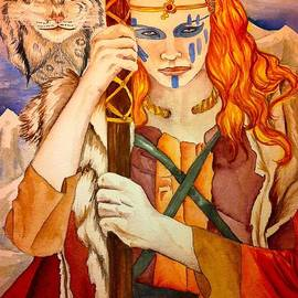 Helena Domenic - Wild Wizard Woman of the North