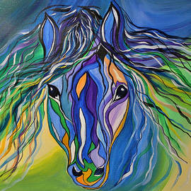 Janice Rae Pariza - Willow the War Horse