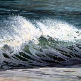 Eileen Patten Oliver - Wind and Wave on Cape Ann