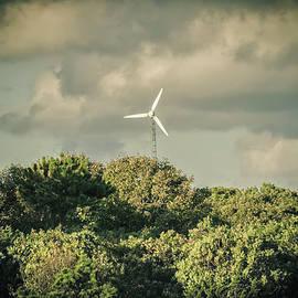 Marianne Campolongo - Wind turbine Falmouth Cape Cod MA