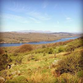 Denise Brady - Windermere From Gummers How #lake
