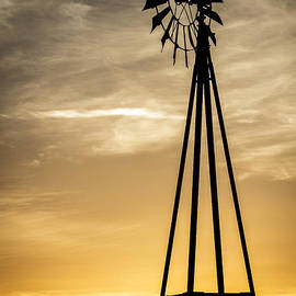 Mitch Shindelbower - Windmill Sunset