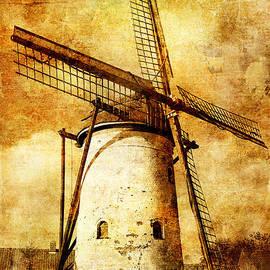April McNett - Windmill - Vintage