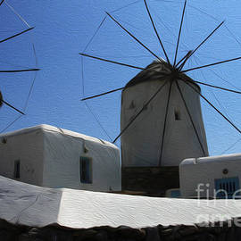 Bob Christopher - Windmills Mykonos Greece 1