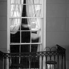 Greg Mimbs - Window Access in Black and White