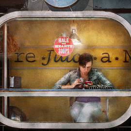 Mike Savad - Window - Hoboken NJ - Hale and Hearty Soups