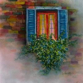 Stephanie Burd - Window in Bloom