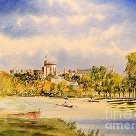 Bill Holkham - Windsor Castle and Thames