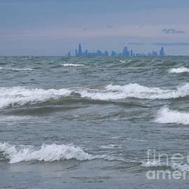 Ann Horn - Windy City Skyline